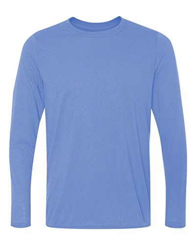 Gildan Performance 4.5 oz. Long-Sleeve T-Shirt - CAROLINA BLUE - M