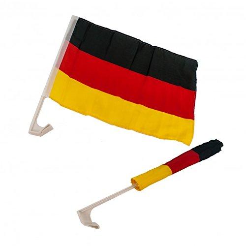 Autoflagge Deutschland. 2 Stück