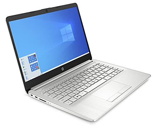 HP 14(2021) 10th Gen Intel Core i5 Laptop, 8GB RAM, 512GB SSD, 14-inch(35.6 cm) FHD Screen, 4G LTE, Win 10, MS Office, Natural Silver, 1.49 Kg (14s-er0503TU)