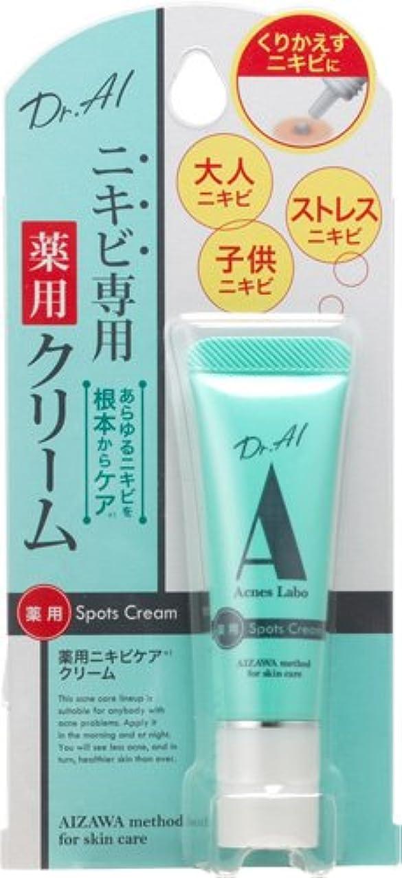 ジェム腹痛価値アクネスラボ ニキビ専用 薬用スポッツクリーム 10g 【医薬部外品】