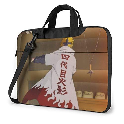 Laptop Crossbody Messenger Bag, Anime Nar-uto Became 4th Hokage Minato Namikaze Classic School Bags Computer Sleeve Case