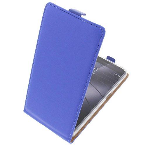 foto-kontor Tasche für Gigaset Me Pro Smartphone Flipstyle Schutz Hülle blau
