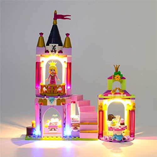 Conjunto de Luces Lluminación para Celebración Real Modelo de Bloques de Construcción, Kit de Iluminación LED Compatible con Lego 41162 (Modelo Lego no incluido)