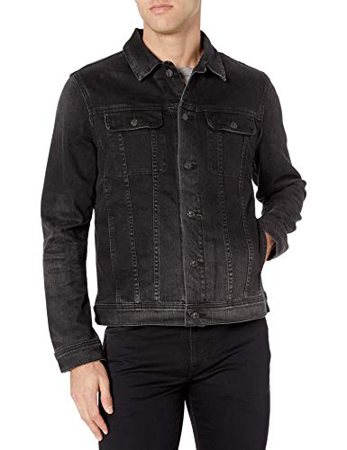 Preisvergleich Produktbild AG Adriano Goldschmied Herren Dart Long Sleeve Denim Jacket Jeansjacke,  Years Clouded,  Klein