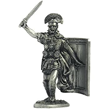 Tin Army Scale 1//32 54-6 Roman Gladiator Tin Toy Soldiers Metal Sculpture Miniature Figure Collection 54mm