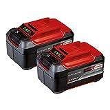Einhell PXC-Twinpack 5.2 Ah Power X-Change (Li-Ion, 18 V, 2x 5.2 Ah, apta para todos los dispositivos PXC, gestión proactiva de la batería, ciclos de carga adaptados a la situación)