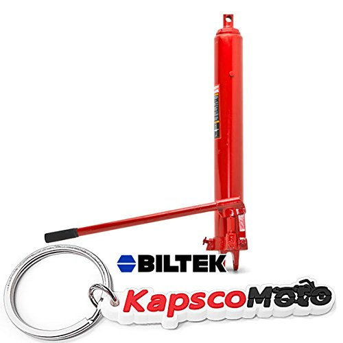Biltek New Long Ram Jack Cherry Picker Replacement Hydraulic 8 Ton Manual Engine Hoist + KapscoMoto Keychain
