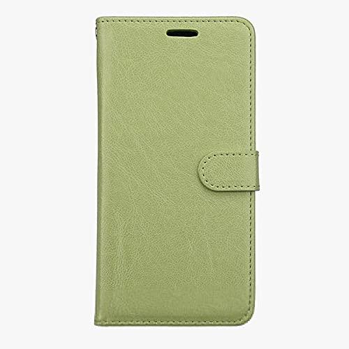 JiuRui-504 kuaijiexiaopu Fundas para Sony Xperia XZ2, Funda de Cuero para Sony Z3 Mini Z5 M4 XZ1 x C6 XA XZ L2 XA2 Ultra XZ2 Premium E6 L1 XA1 Z6 X Compact E5 (Color : Verde, Material : For Sony XA2)