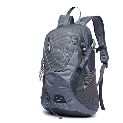 YALIXI Cycling Backpacks, Leisure Nylon Water Repellent Shoulder Outdoor Sports Backpack,gray