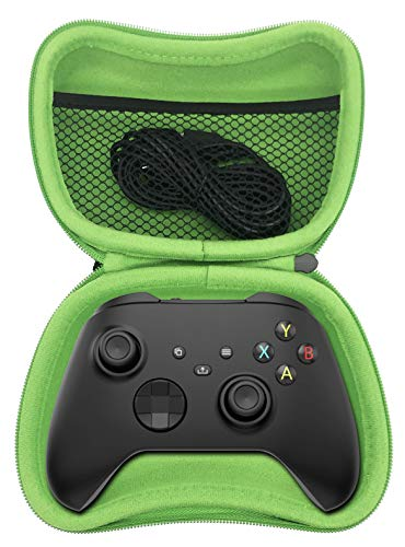 Surge Pro Gamer Pack (12 pcs) Accessory Kit, Xbox Series X / S Controller Starter Pack w/ Controller Case, Controller Grips, Thumb Grips, Charge Cable, Battery Pack