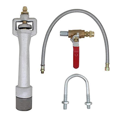Lancia gas venturi bruciatore forgia a gas cannello propano gpl burner per forno fusione metalli fabbro fusorio