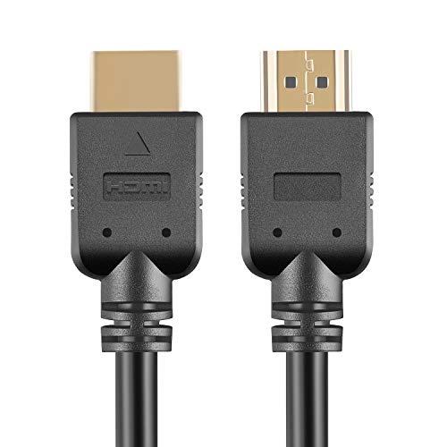 Aiotarks Câble HDMI 2.0 4K 2m, Haute Vitesse 18 Gbps, HDR, 3D, 2160P, 1080P, avec Ethernet, Retour Audio (ARC), pour UHD TV, Blu-ray, PC, Projecteur