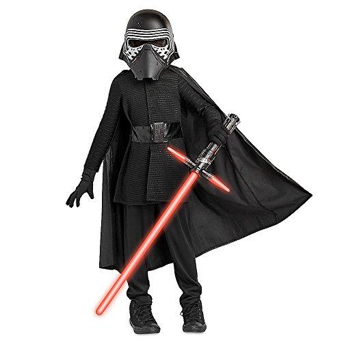 Star Wars Kylo Ren Costume for Kids The Last Jedi Size 7/8 Black