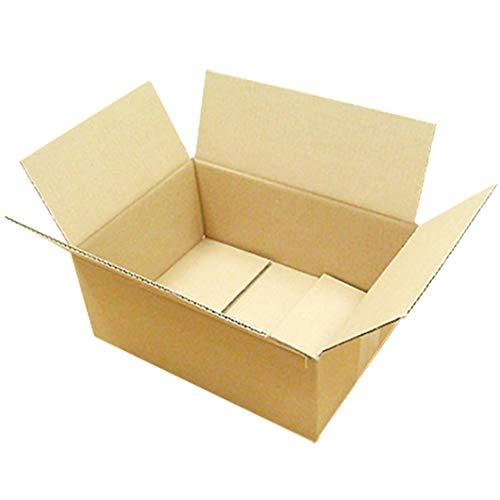 ダンボール 厚さ3mm A4 対応 305×220×125 クラフト 業務用 100枚セット (ダンボール箱 段ボール箱 梱包用 ダンボール)