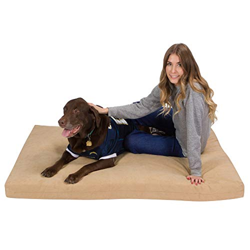 Pet Support Systems Orthopedic Gel Memory Foam Dog Beds - Eco Friendly, Hypoallergenic and Made in The USA, Supreme Luxury Comfort and Care for Dogs with Removable and Washable Cover