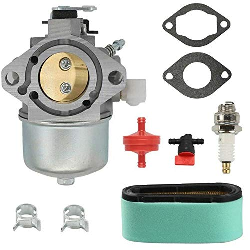 Fauge 699831 Carburador con Kit de Filtro de Aire para 283702 283707 284702 Motores de Cortacésped