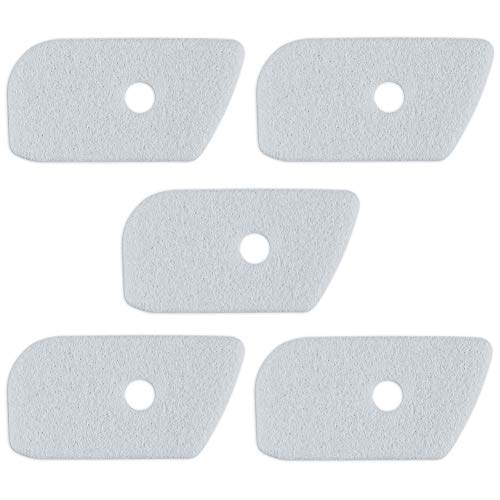Lot de 5 filtres à air 530150253 de rechange pour Craftsman Husqvarna 125L 128LD 128CD 128L 124C 124L 125C 125E 125LDX 125R 125RJ 128C 128LDX 128R