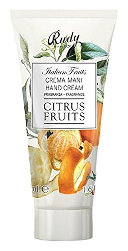 圧縮された蒸留する鼓舞するRUDY Italian Fruits Series ルディ イタリアンフルーツ Hand Cream ハンドクリーム Citrus Fruits