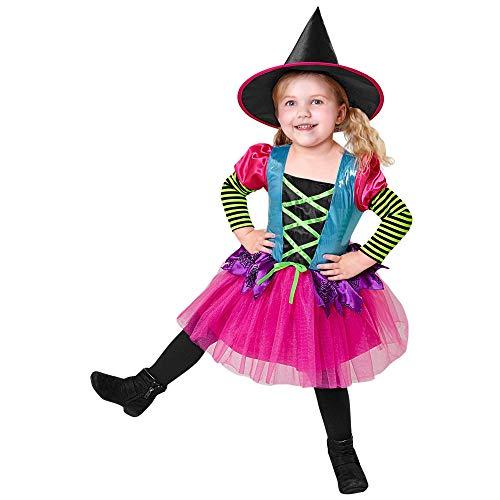 Widmann-Strega Costume per Bambini, Multicolore, (158 cm / 11-13 Anni), 07478