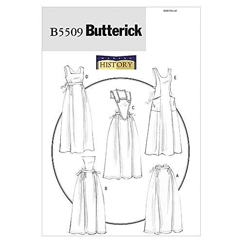 Butterick Schnittmuster 5509–Historische Schürzen