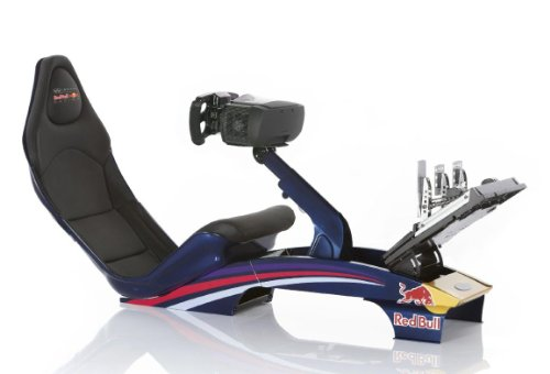 PLAYSEAT - RF.00070 - Playseat® Edition Red Bull Racing F1 - Siège simulation de course - 140 x 50 x 88 cm - Noir
