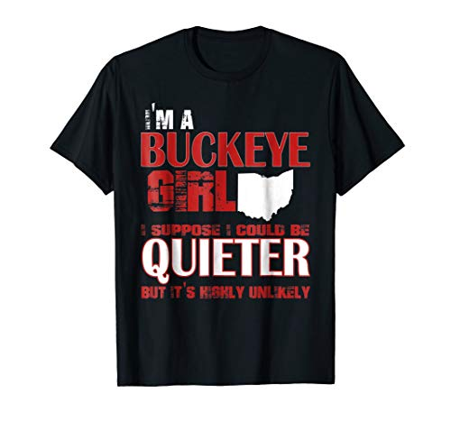 Buckeye Girl - Ohio State T-shirt For Women