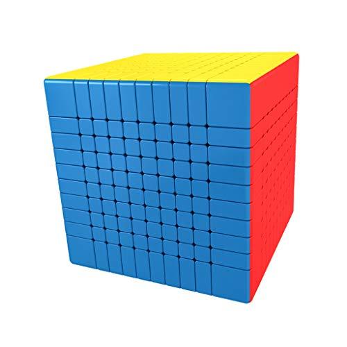 P Prettyia 10x10x10 Zauberwürfel Pyramidenwürfel Denksportaufgaben Cube Spielzeug Intelligentes Geduldspiel