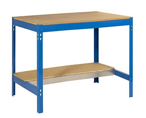 SIMONRACK Banco De Trabajo Simonwork Bt0 900 Azul/Madera