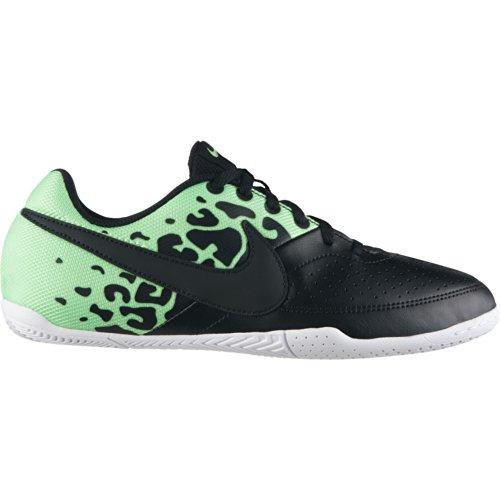Nike Jungen Jr Elastico II Sneaker, Schwarz Grün Zitronenweiß, 37.5 EU