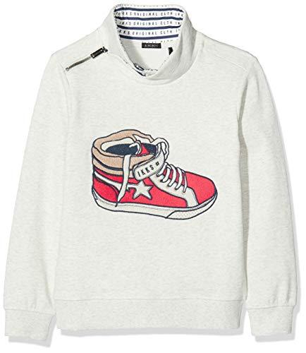 IKKS Junior Sweat Baskets Shirt, Ecru (Beige Clair chiné 15)