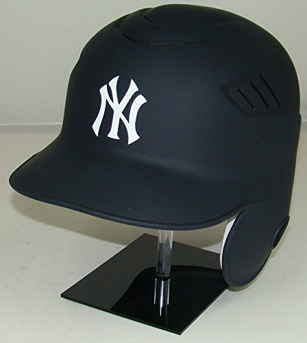 New York Yankees Matte Navy MLB New Coolflo Style Official Authentic Batting Helmet (for Right Handed Batter)
