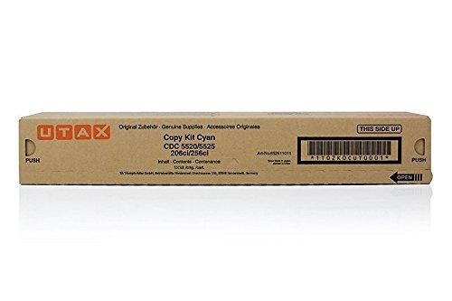 Utax Original 652511011 / CDC5520, für 206 Ci Premium Drucker-Kartusche, Cyan, 6000 Seiten
