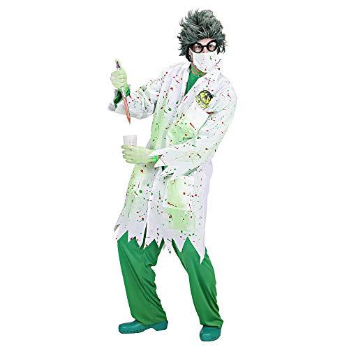 WIDMANN Widman - Disfraz de científico loco para hombre, talla L (S/98933)