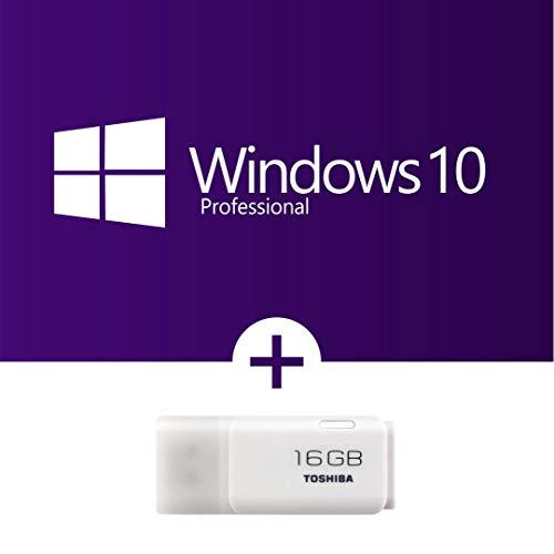 Windows 10 Professional incl. bootable USB-Stick