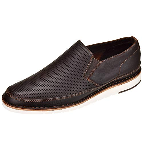 Trask Men's Barnett Brown English Calfskin 8.5 M US