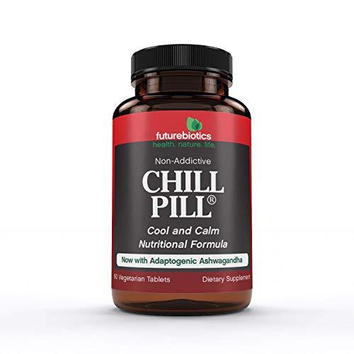 Futurebiotics Chill Pill, Calmness Formula, 60 Vegetarian Tablets