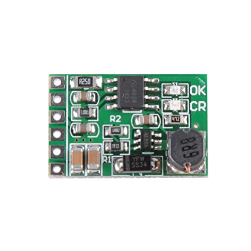 Keenso Boost-converter-module mini 12V-uitgang-UPS-voeding DIY laadapparaat plaat spanning DC-DC converter boost-module