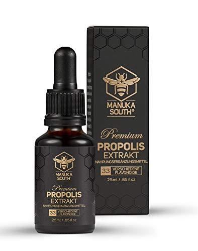Manuka South Premium Propolis Extrakt mit 33 wertvollen Flavonoiden (25ml)
