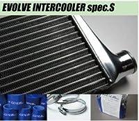 HPI EVOLVE インタークーラーキット SPEC-S スペックS MITSUBISHI ランサーエボリューション 8 CT9A 4G63 青シリコン ホースバンド (HPIC-MI0501)