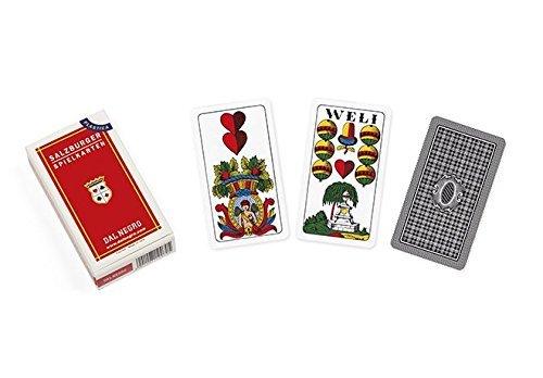dal Negro - Salzburger 40 Salzburger Spielkarten, Mehrfarbig, 48018