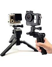CoverZone GoPro Tripod Stand Katlanır Aksiyon Kamera EL MONOPOD STAND 2İN1