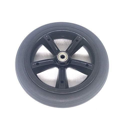 CHHD Neumático de Scooter eléctrico, 8 Pulgadas 8X1 1/4 Rueda de neumático sólido a Prueba de explosiones 200X45 Neumático Antideslizante Resistente al Desgaste, Adecuado para Cochecito