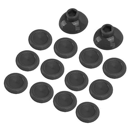 DAUERHAFT Hochwertiges Joystick Cover PC Material sicher für PS4 Gamepad(Black)