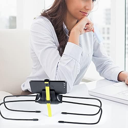 LAHappy Soporte Universal para Tablet teléfono, Soporte para Perezoso, para la Cama, el Sofá o Cualquier Superficie Irregular