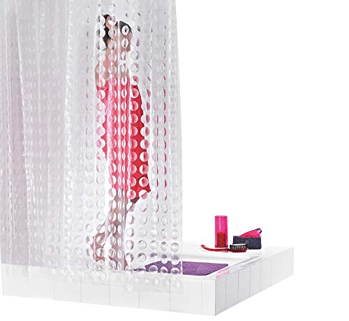 GRUND Duschvorhang PRISMA 180x200 cm transparent