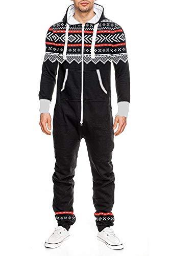 Heren One Zip Onesie Jumpsuit Mannen Playsuit pak pyjama overalls hoodies nachtkleding