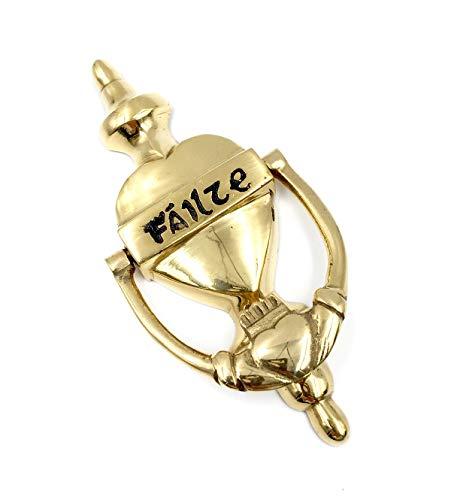 Irish Liffey Failte Door Knocker - Brass