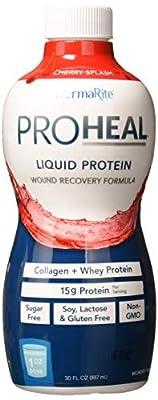 Dermarite Industries Proheal Sugar-Free Liquid Protein Supplement