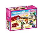Playmobil - Dollhouse Playset, Salón, Multicolor (70207)