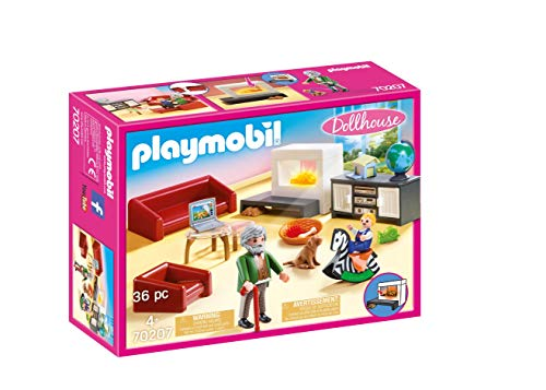 Playmobil Dollhouse Sala de Estar Acolhedora - 70207